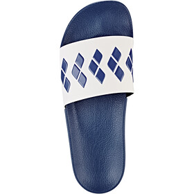 arena Team Stripe Slide Sandalias, azul/blanco